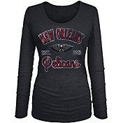 New Era Women's New Orleans Pelicans Tri-Blend Long Sleeve Shirt