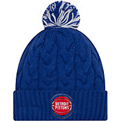 New Era Women's Detroit Pistons Cozy Knit Hat