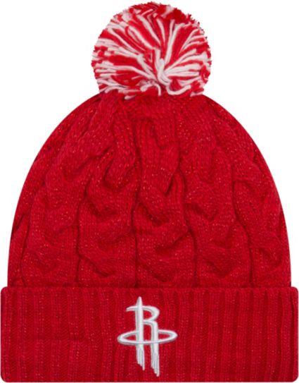 online store b578a 678ce ... uk new era womens houston rockets cozy knit hat 1e749 b5e09