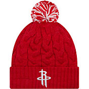New Era Women's Houston Rockets Cozy Knit Hat
