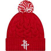33c28071810 Product Image · New Era Women's Houston Rockets Cozy Knit Hat
