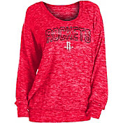 New Era Women's Houston Rockets Long Sleeve Sweater