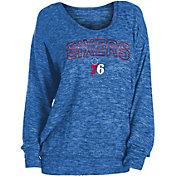 New Era Women's Philadelphia 76ers Long Sleeve Sweater