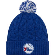 New Era Women's Philadelphia 76ers Cozy Knit Hat