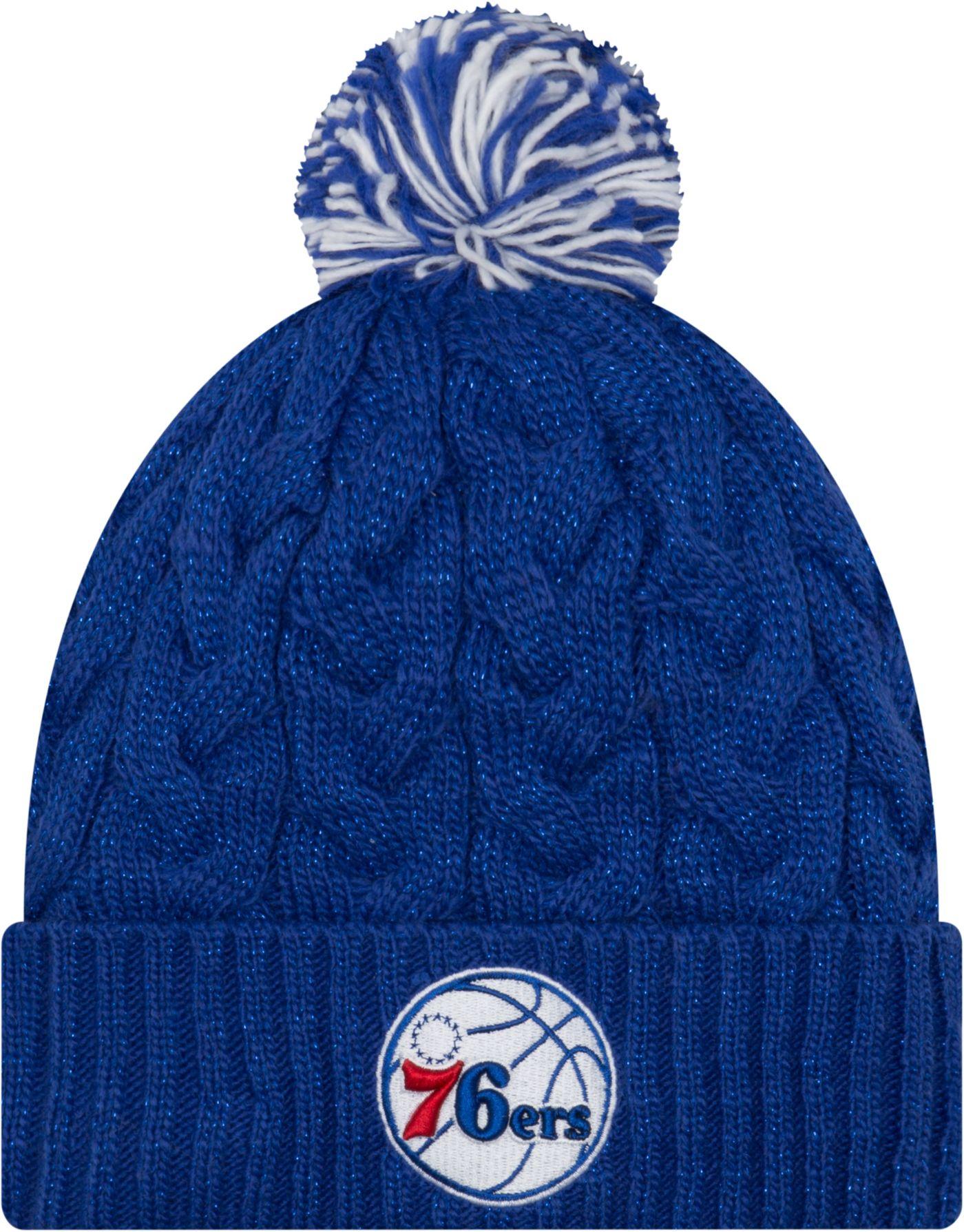 New Era Women's Philadelphia 76ers Cozy Knit Hat