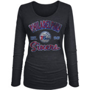 New Era Women's Philadelphia 76ers Tri-Blend Long Sleeve Shirt
