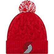 New Era Women's Portland Trail Blazers Cozy Knit Hat