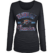 New Era Women's Oklahoma City Thunder Tri-Blend Long Sleeve Shirt