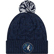 New Era Women's Minnesota Timberwolves Cozy Knit Hat