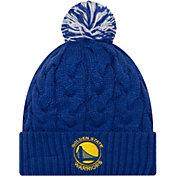 New Era Women's Golden State Warriors Cozy Knit Hat
