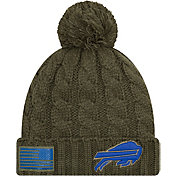 New Era Women's Salute to Service Buffalo Bills Olive Cuffed Knit