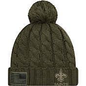 New Era Women's Salute to Service New Orleans Saints Olive Cuffed Knit