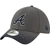 New Era Youth Atlanta Braves 39Thirty Blur Visor Stretch Fit Hat