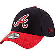 New Era Youth Atlanta Braves 39Thirty Pop Shadow Stretch Fit Hat
