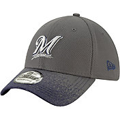 New Era Youth Milwaukee Brewers 39Thirty Blur Visor Stretch Fit Hat