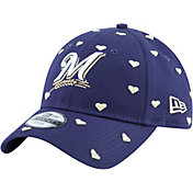 New Era Youth Milwaukee Brewers 9Twenty Lovely Fan Adjustable Hat