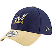 New Era Youth Milwaukee Brewers 39Thirty Pop Shadow Stretch Fit Hat