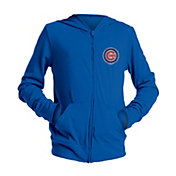 New Era Youth Girls' Chicago Cubs Full-Zip Hoodie