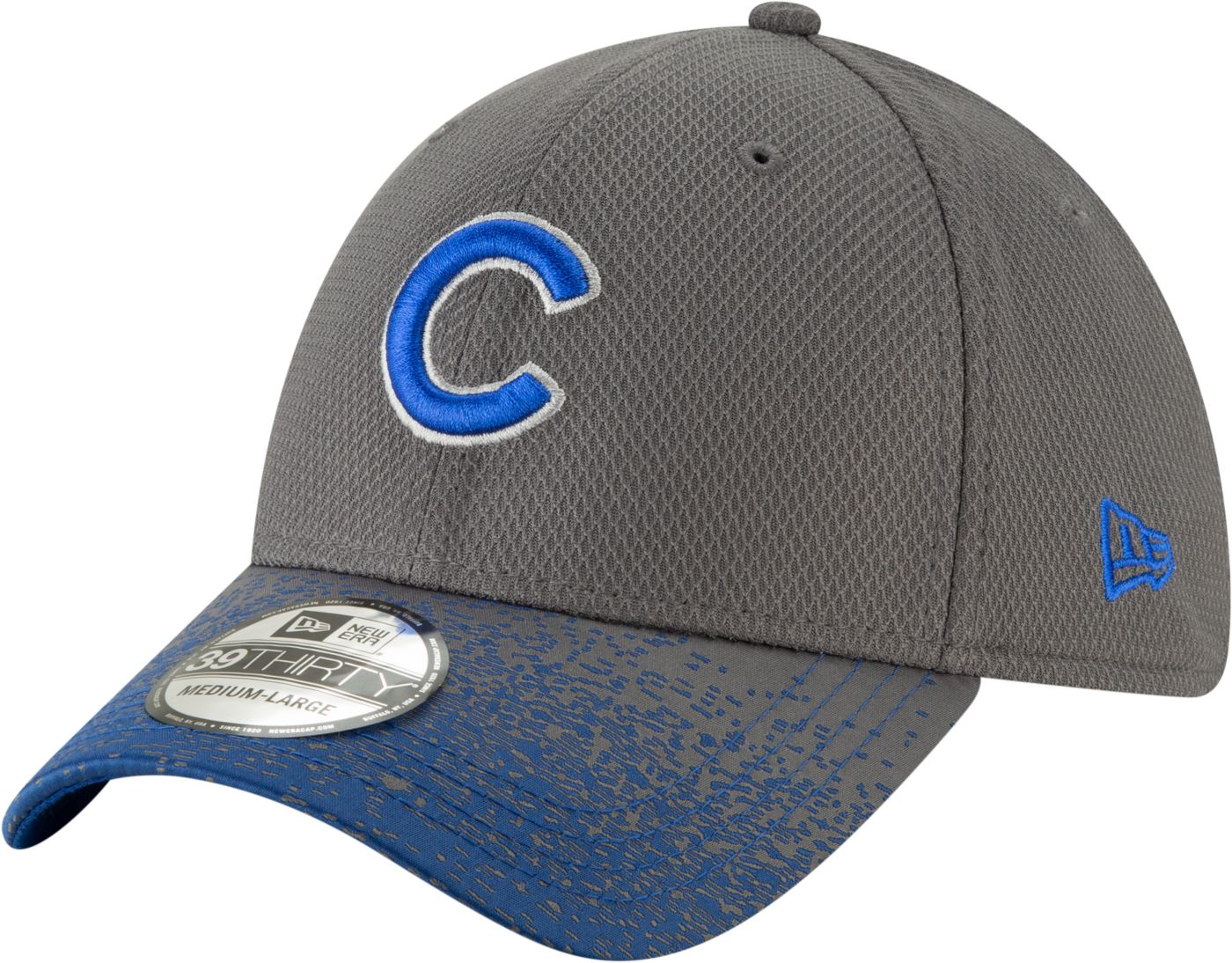 New Era Youth Chicago Cubs 39Thirty Blur Visor Stretch Fit Hat