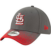 New Era Youth St. Louis Cardinals 39Thirty Blur Visor Stretch Fit Hat