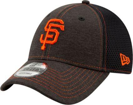 New Era Youth San Francisco Giants 9Forty Team Tread Adjustable Hat.  noImageFound a7cae1026