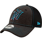 New Era Youth Miami Marlins 9Forty Team Tread Adjustable Hat