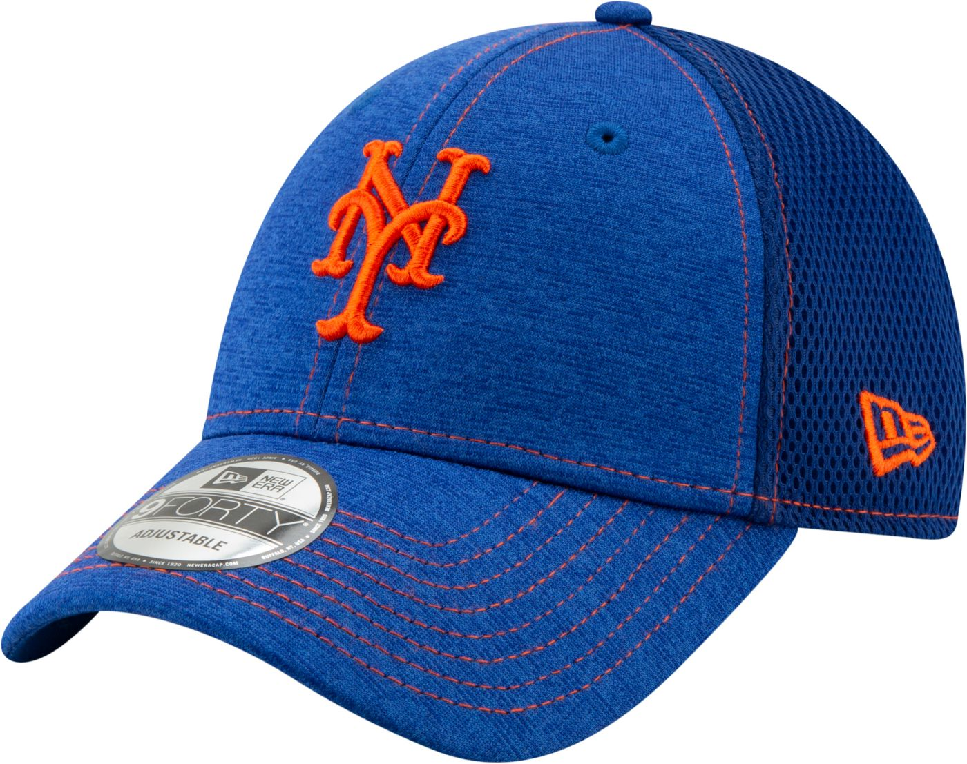 New Era Youth New York Mets 9Forty Team Tread Adjustable Hat