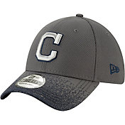 New Era Youth Cleveland Indians 39Thirty Blur Visor Stretch Fit Hat