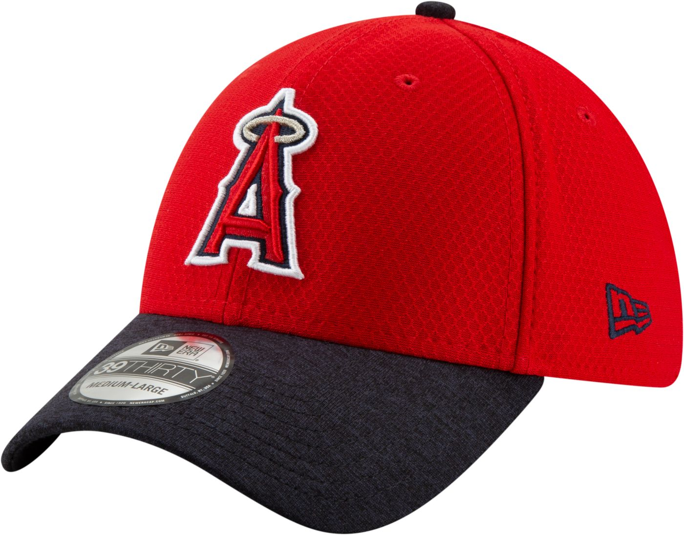 New Era Youth Los Angeles Angels 39Thirty Pop Shadow Stretch Fit Hat