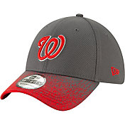 New Era Youth Washington Nationals 39Thirty Blur Visor Stretch Fit Hat