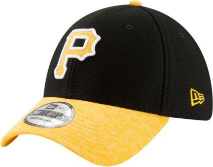 New Era Youth Pittsburgh Pirates 39Thirty Pop Shadow Stretch Fit Hat ... b053fb69151