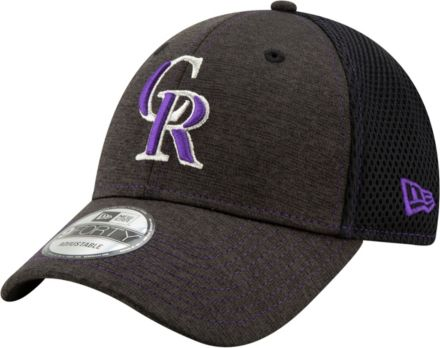 new products 6f0d5 7d304 New Era Youth Colorado Rockies 9Forty Team Tread Adjustable Hat