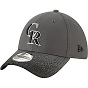 New Era Youth Colorado Rockies 39Thirty Blur Visor Stretch Fit Hat