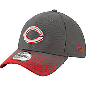 New Era Youth Cincinnati Reds 39Thirty Blur Visor Stretch Fit Hat