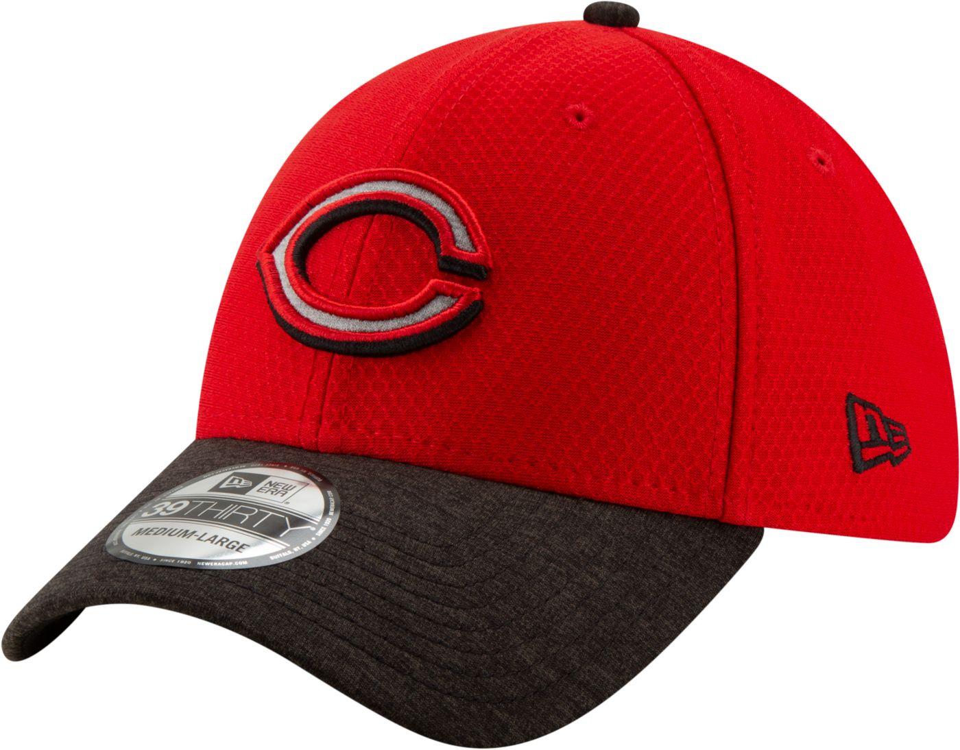 New Era Youth Cincinnati Reds 39Thirty Pop Shadow Stretch Fit Hat