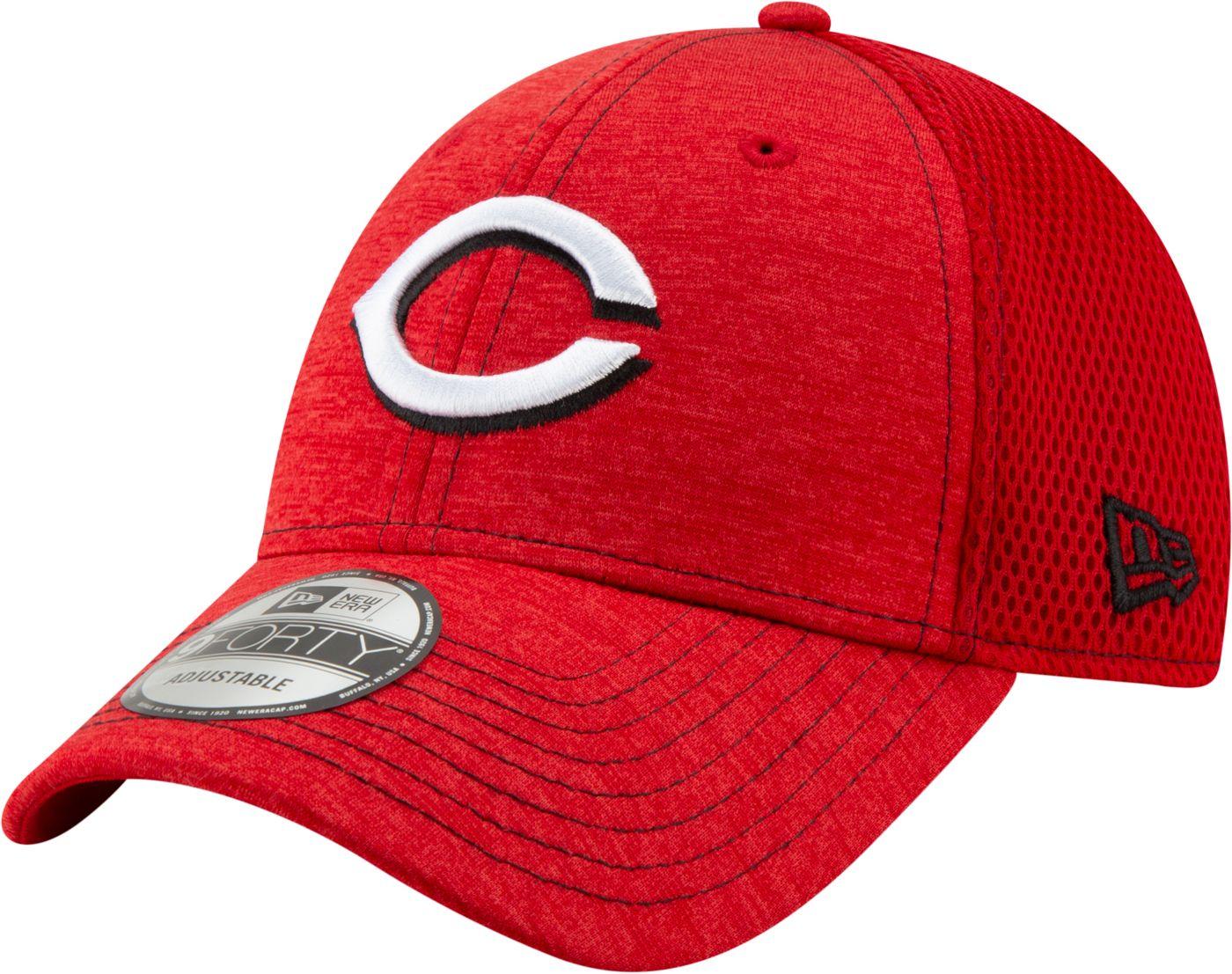New Era Youth Cincinnati Reds 9Forty Team Tread Adjustable Hat