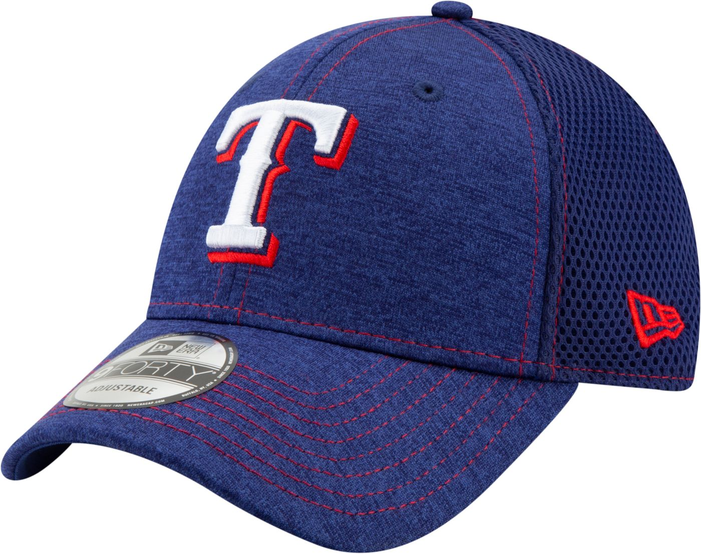 New Era Youth Texas Rangers 9Forty Team Tread Adjustable Hat