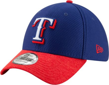 separation shoes c28f8 e2f5f New Era Youth Texas Rangers 39Thirty Pop Shadow Stretch Fit Hat