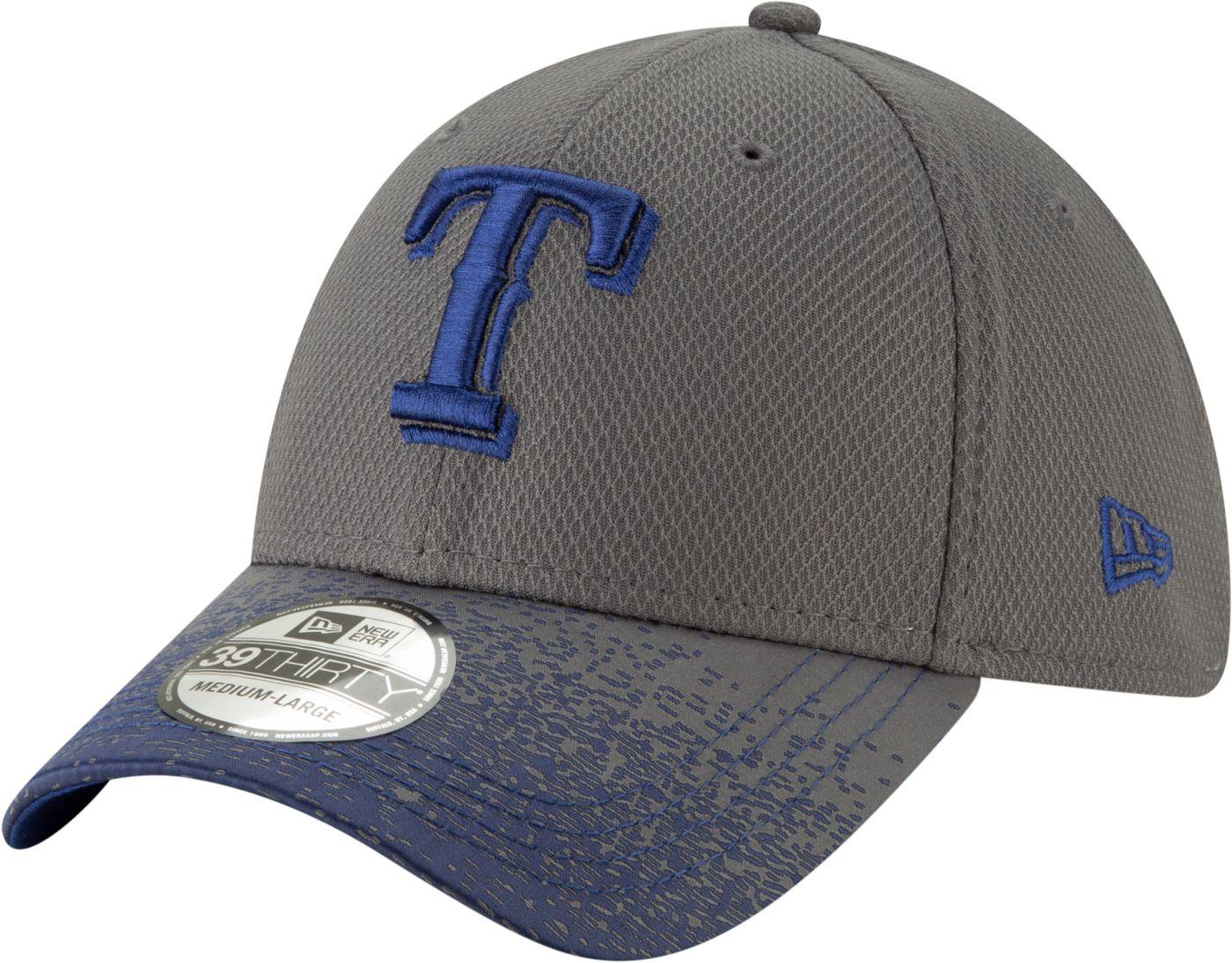 New Era Youth Texas Rangers 39Thirty Blur Visor Stretch Fit Hat