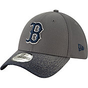 New Era Youth Boston Red Sox 39Thirty Blur Visor Stretch Fit Hat