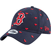 New Era Youth Boston Red Sox 9Twenty Lovely Fan Adjustable Hat