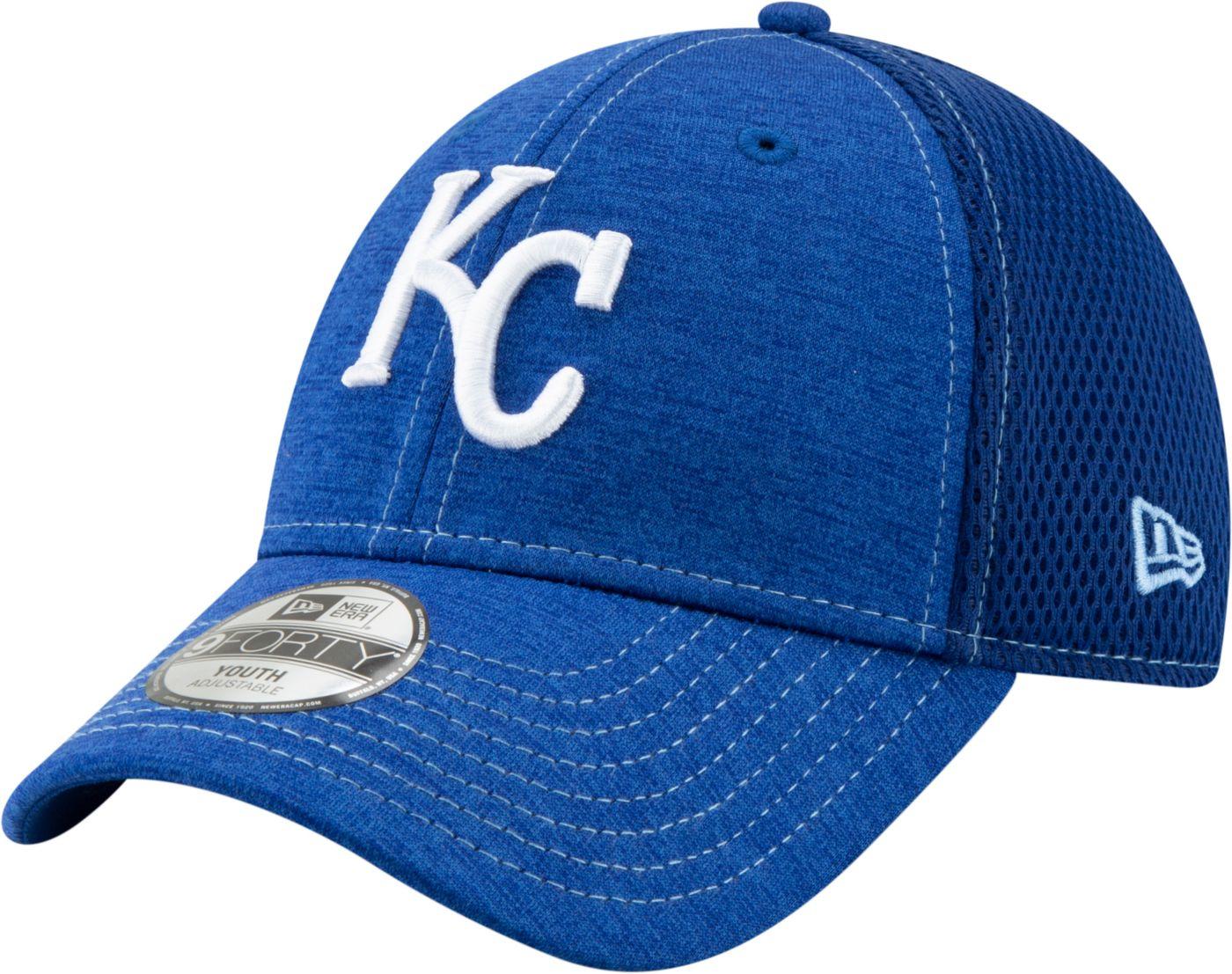 New Era Youth Kansas City Royals 9Forty Team Tread Adjustable Hat
