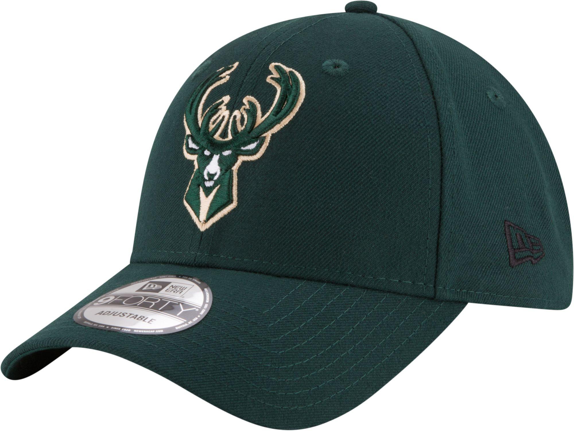 New Era Youth Milwaukee Bucks 9Forty Adjustable Hat, Kids Unisex, Size: One size