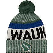 New Era Youth Milwaukee Bucks Knit Hat