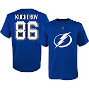 NHL Youth Tampa Bay Lightning Nikita Kucherov #86 Royal T-Shirt