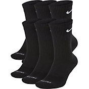 Nike Dri-FIT Everyday Plus Cushion Training Crew Socks - 6 Pack