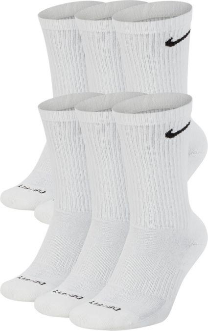 Nike Dri-FIT Everyday Plus Cushion Training Crew Socks 6 Pack. noImageFound a3f471a982b4a