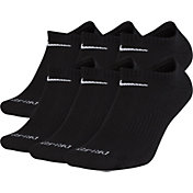 Nike Dri-FIT Everyday Plus Cushion Training No-Show Socks - 6 Pack