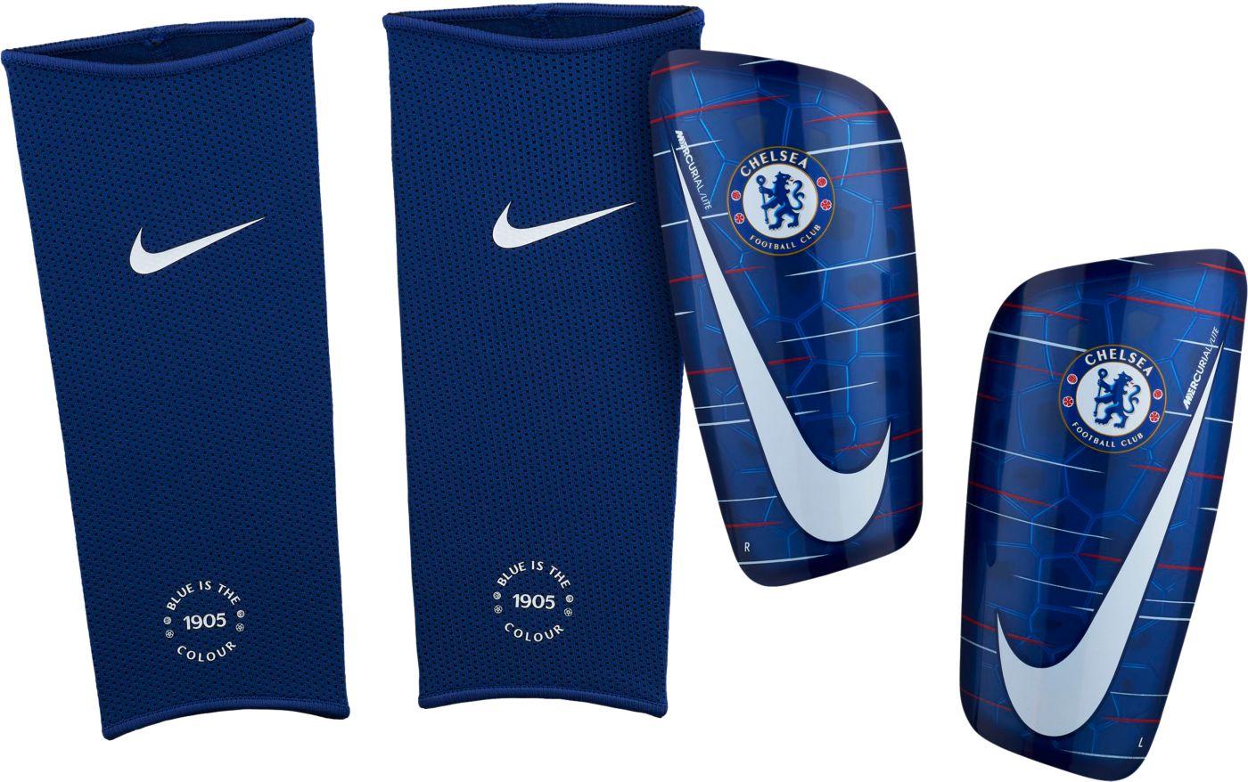 Nike Adult Chelsea Mercurial Lite Soccer Shin Guards
