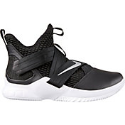 dc0fb5289418 Product Image · Nike Zoom LeBron Soldier XII TB Basketball Shoes in  Black Silver